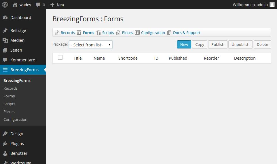 Einfaches mehrseitiges Formular in WordPress® erstellen