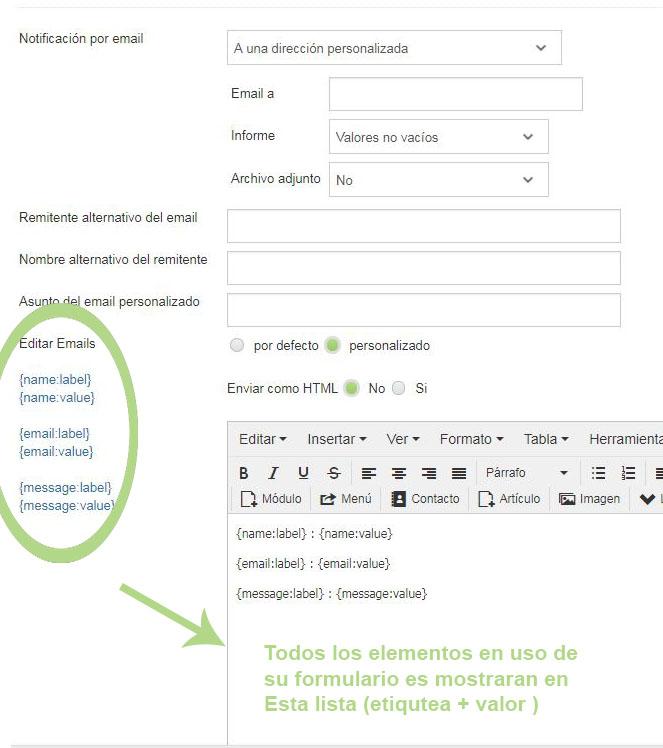 Emails de respuesta - Crosstec