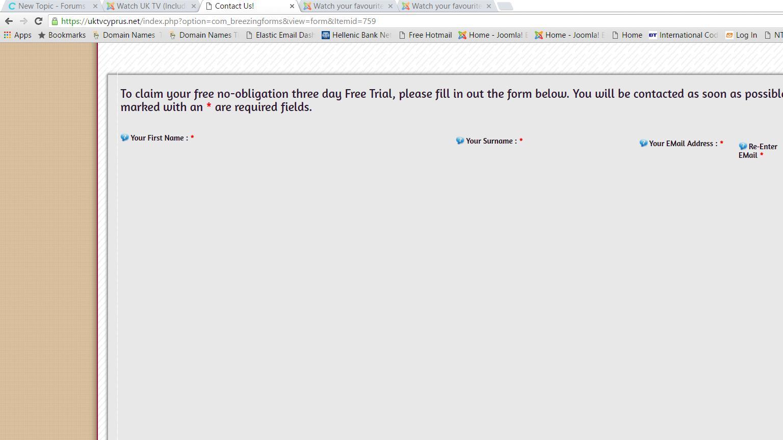 Forms not working after Joomla 3 5 1 Upgrade - Forums - Crosstec