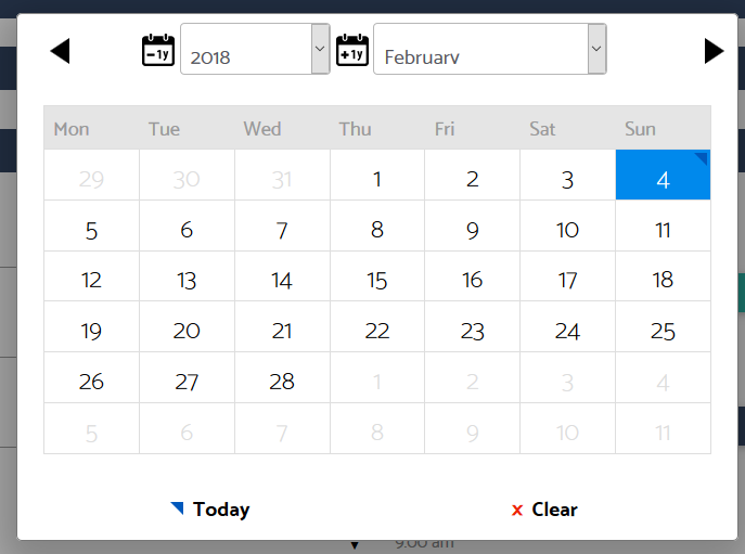 Change first day of week on calendar to Sunday? - Forums