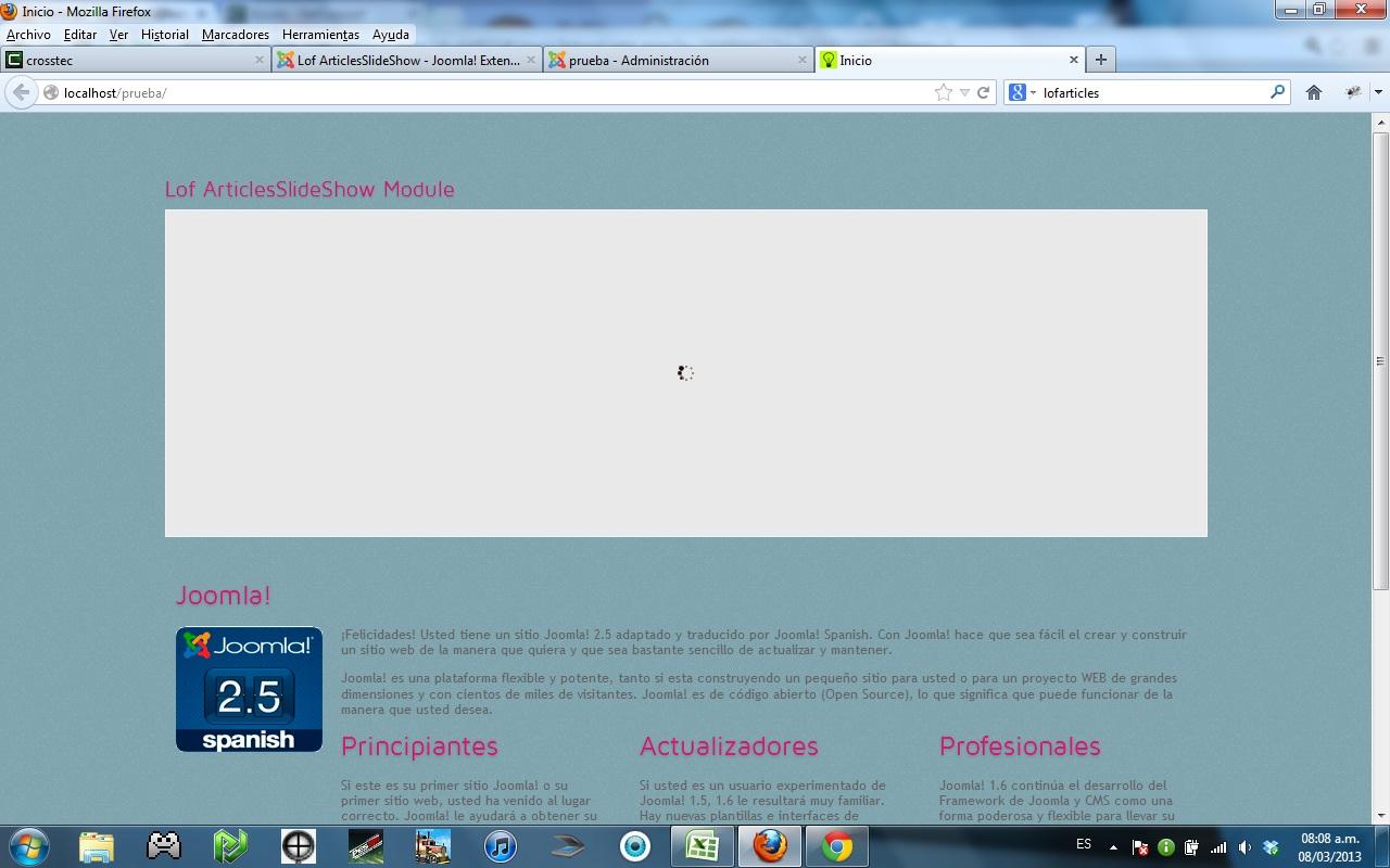 Problema con la plantilla cleanlogic - Forums - Crosstec
