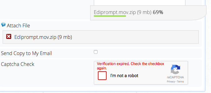 Increase reCAPTCHA session timeout - Forums - Crosstec