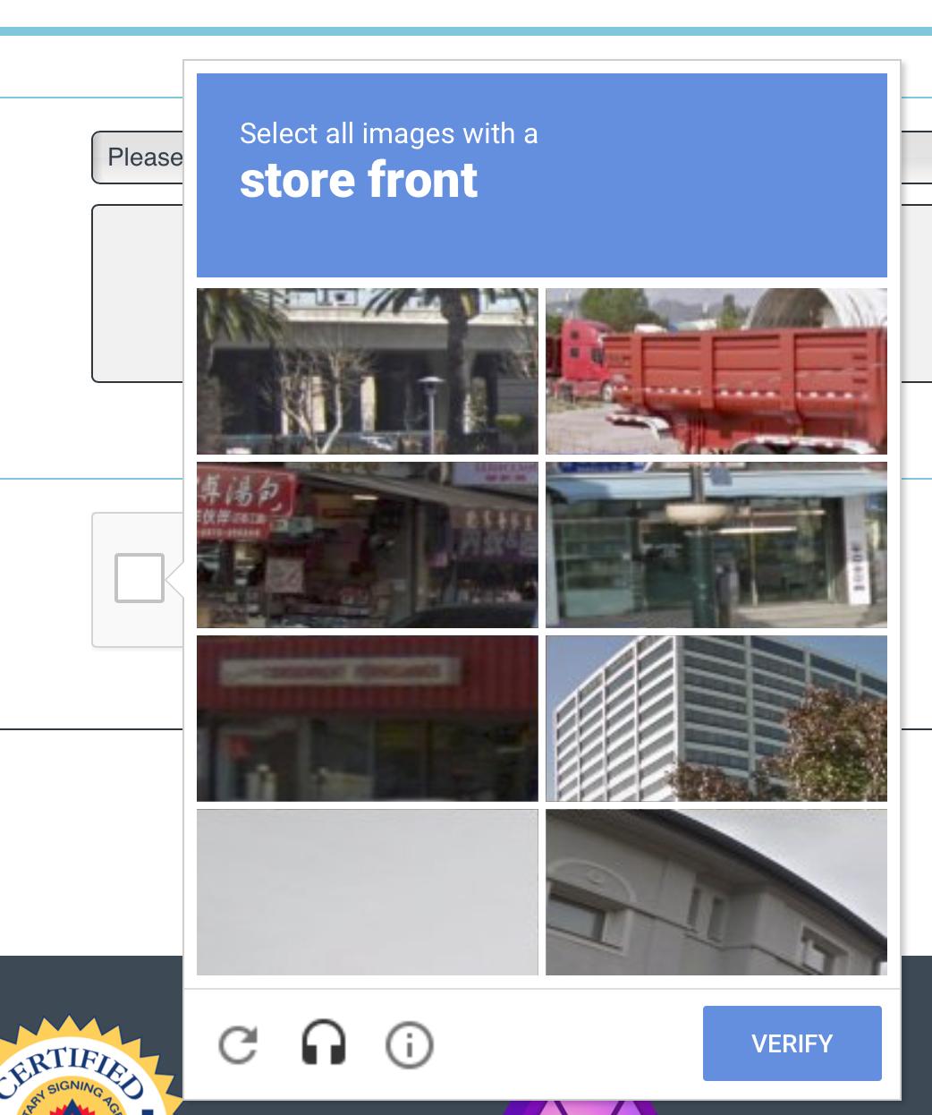 Invisible Recaptcha no longer working in Safari & Edge browsers