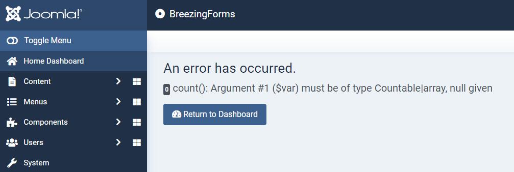 BreezingFormsinstallerror1.PNG